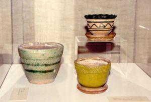 Three Rupchan Pots on Display