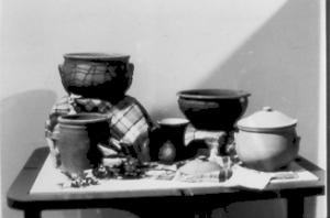 Collection of Pots in Ukrainian Museum