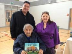 Cree storyteller Keepness Silverthorne Lavalee