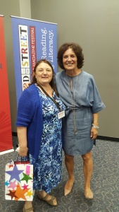 Myself with special guest author Margaret Truudeau